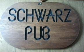 Fotografie Schwarz Pub - 2
