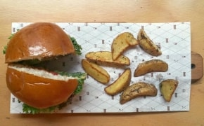 Fotografie Burger Van Home - 2