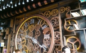 Fotografie Enigma - Kinetic Steampunk Cafe - 1