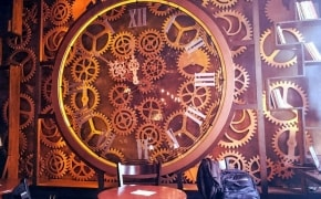 Fotografie Enigma - Kinetic Steampunk Cafe - 2